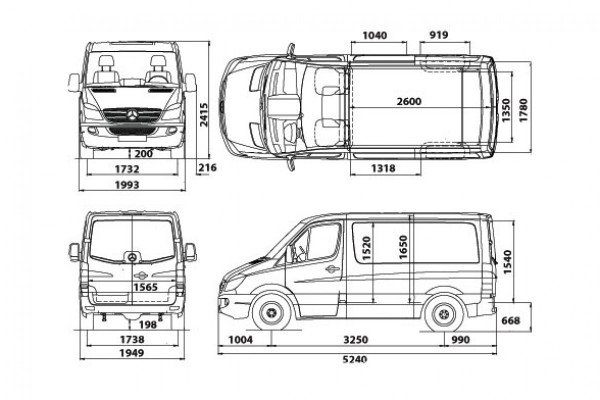 Van and Truck Dimensions & Carrying Capacity