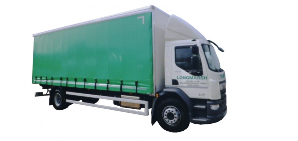T50 DAF 18 Tonne Curtain Car Hire Deals