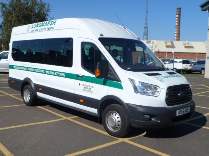 MPV & Minibus Hire Deals from Longmarsh