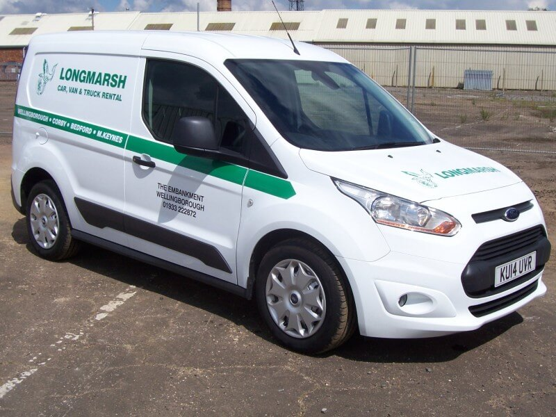Van Hire Deals from Longmarsh