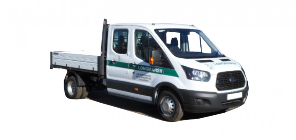 V65 Ford Transit Crew Cab Tipper Car Hire Deals