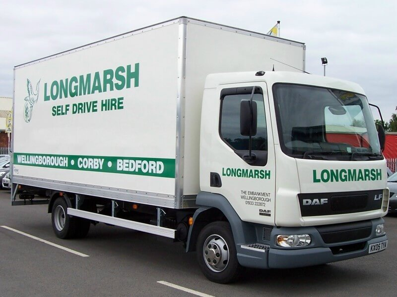 Truck Hire Deals from Longmarsh