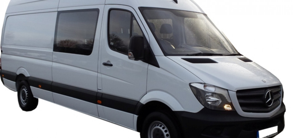 V45 Mercedes L4 Crew Cab Car Hire Deals