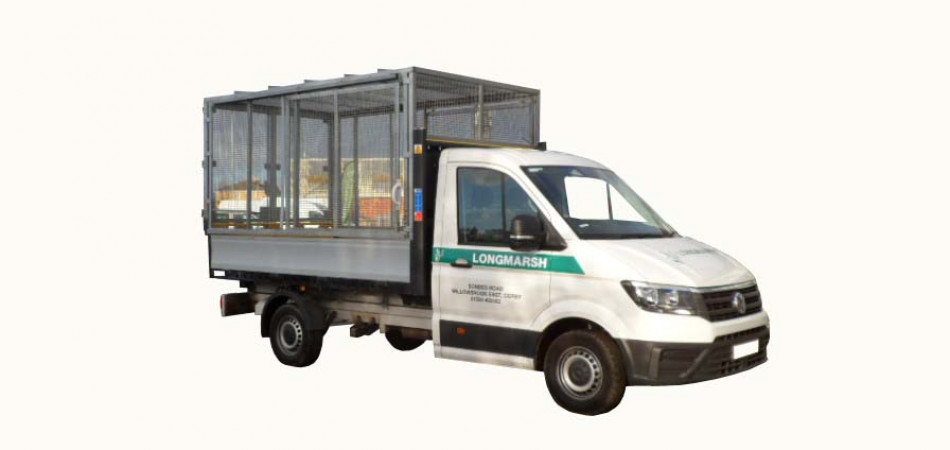 V61 Ford Transit Caged Tipper Car Hire Deals