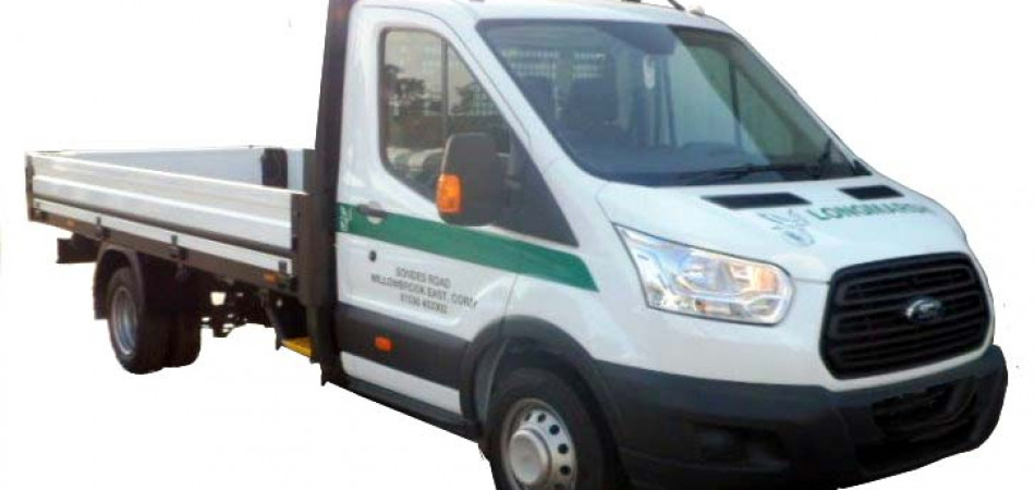 V70 4.1 metre bed Transit Dropside Car Hire Deals